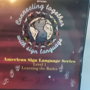 Learn American Sign Language + VHS Tapes